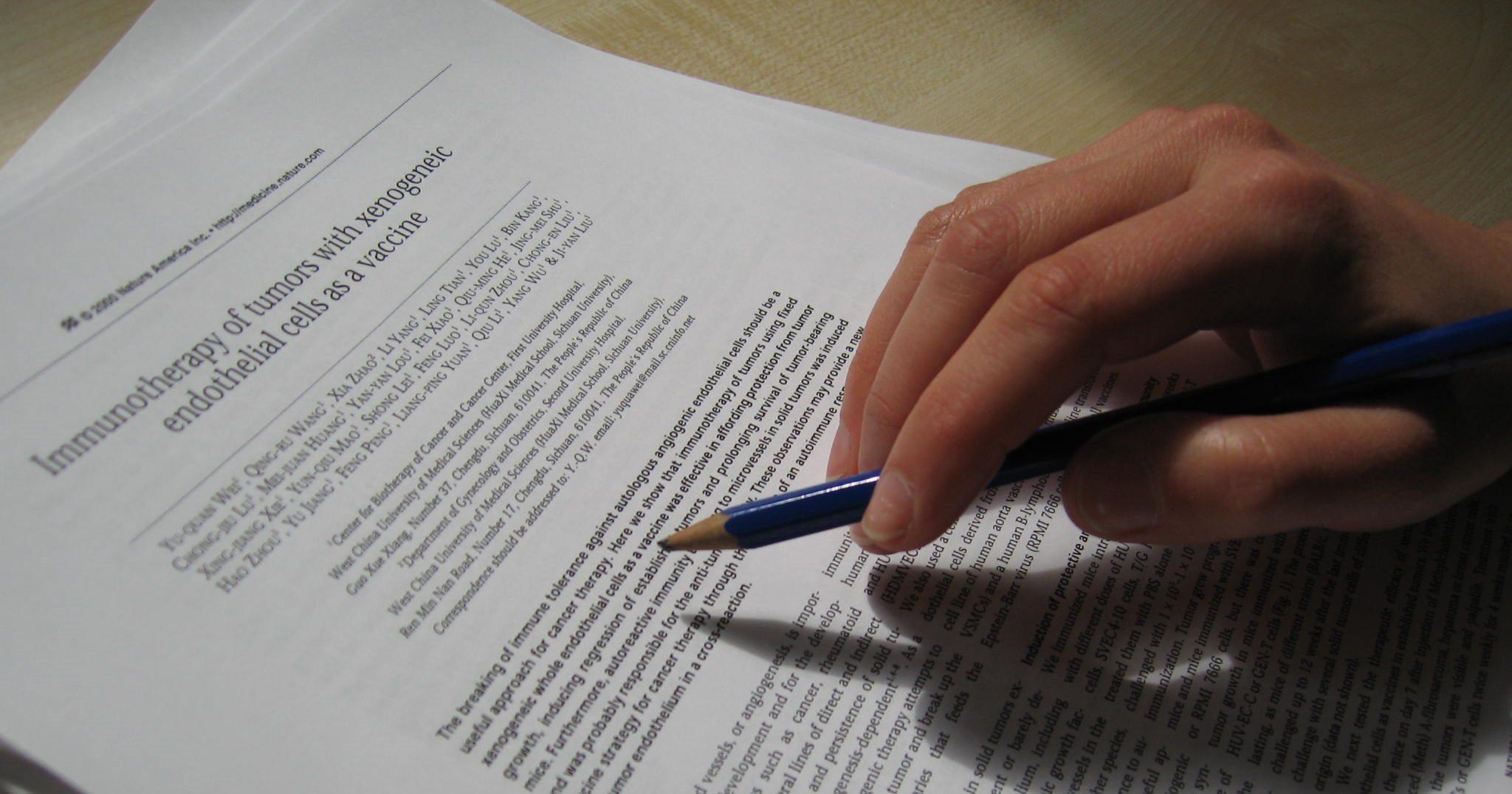 Publicar artigos