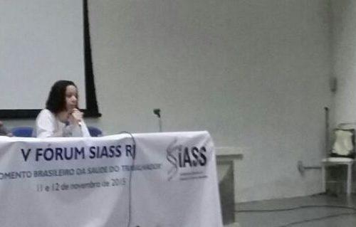 A quinta edição do Forum SIASS RJ aconteceu entre os dias 11 e 12 de novembro de 2015 e foi resultado dos trabalhos do fórum PST do estado do Rio de Janeiro.