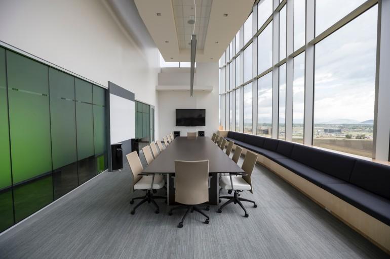 sala de apresentação