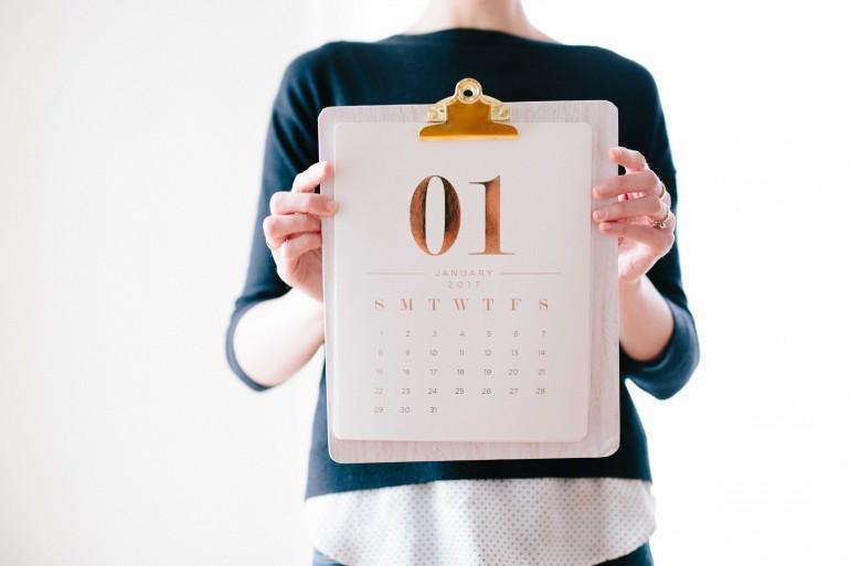 calendário ilustrativo para o cronograma de submissão das propostas para receber apoio financeiro para eventos