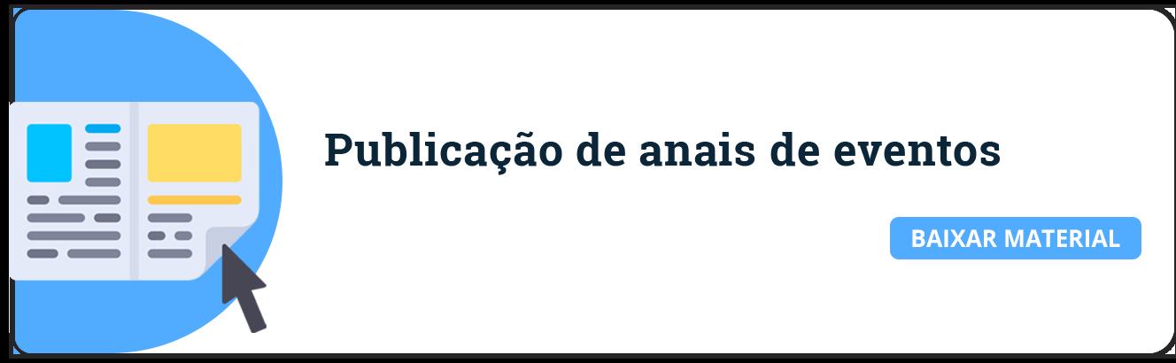ebook publicação de anais
