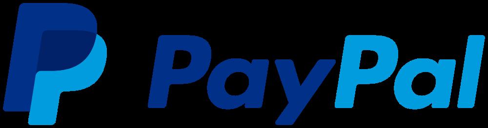 Meios de pagamento: paypal