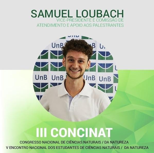 Samuel Loubach, vice presidente do comitê organizador