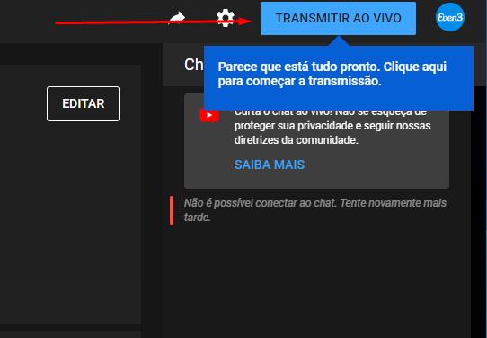 Como fazer live no youtube pelo computador: transmita ao vivo