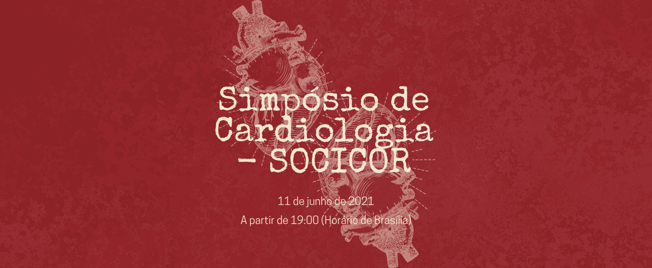 Exemplo de capa de evento: Simpósio de Cardiologia