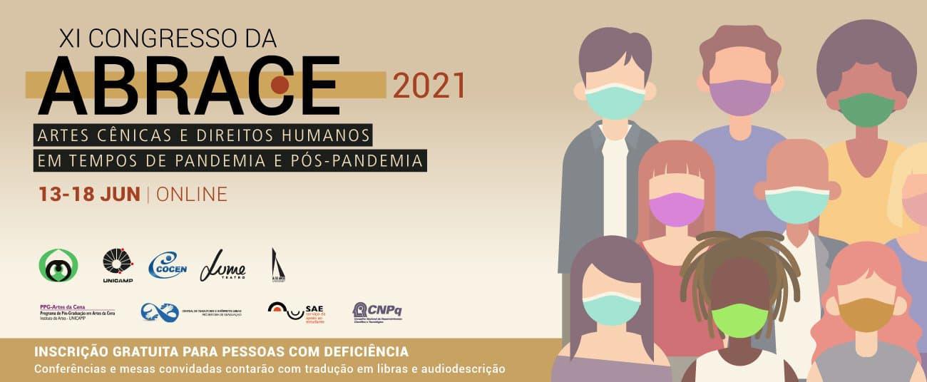 Exemplo de capa de evento: ABRACE
