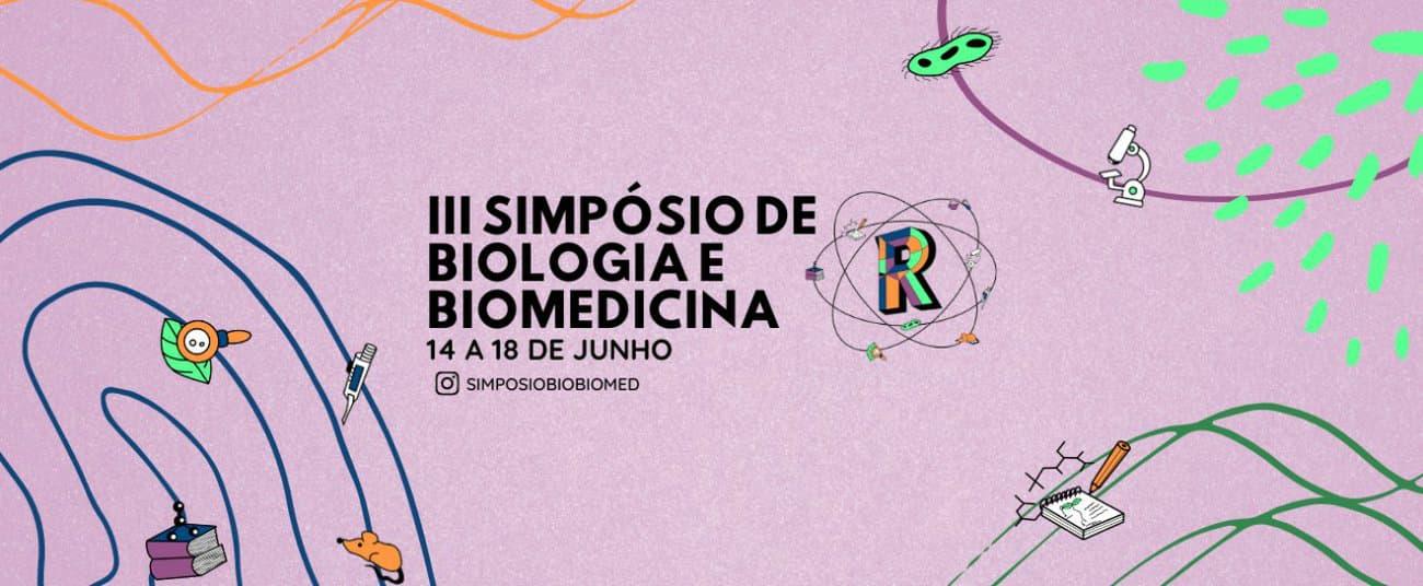 Exemplo de capa de evento: Simpósio de Biologia